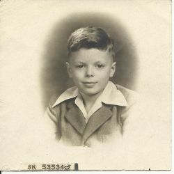 1945 - Scott (then Phil) at the age of 5 or 6